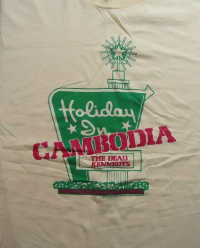 Vintage Dead Kennedys Holiday Inn Cambodia T Shirt (Medium) 2006