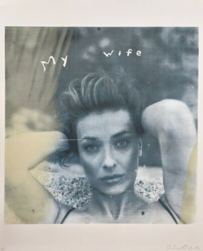 "Julian Schnabel ""my Wife"" 1998 