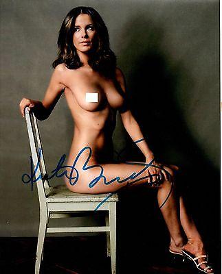 Kate Beckinsale-SO HOT-NUDE Original Autograph-8x10 w COA