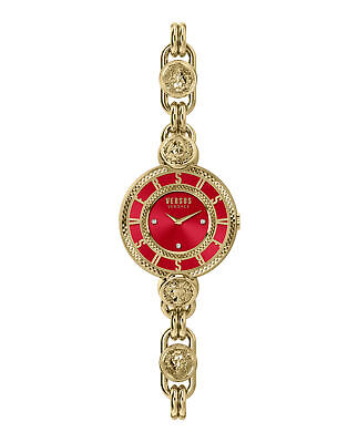 Brand New Luxury Versus Versace Watches Women Red Dial VSPLL2521