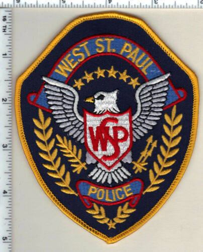 West St. Paul Police (Minnesota)  Shoulder Patch new 1991