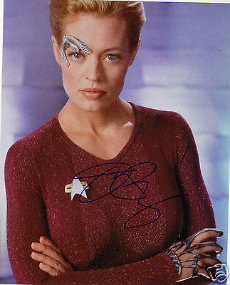 JERI RYAN AUTOGRAPH SIGNED PP PHOTO POSTER