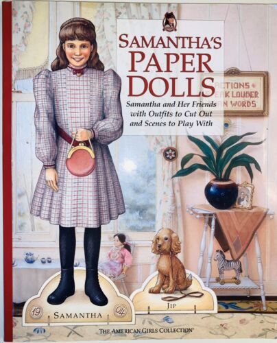 2003 THE AMERICAN GIRL COLLECTION SAMANTHA S PAPER DOLLS BOOK - $9.99