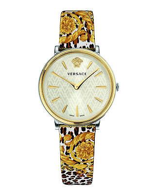 Versace Womens V-Circle Tribute Watch VBP120017