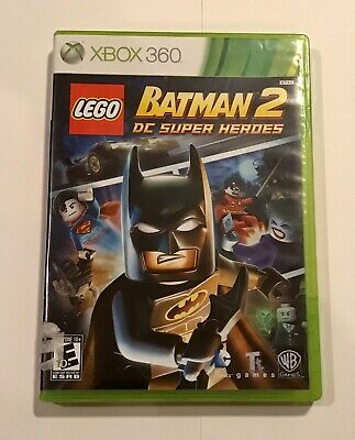 XBOX 360. LEGO Batman 2: DC Super Heroes Game.