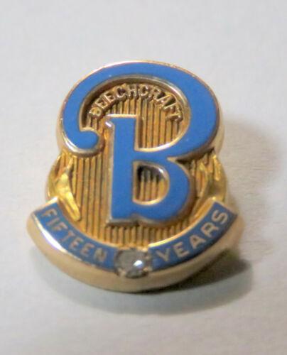 Beechcraft Airline 15 Year Service Award Pin 10K  Gold (1) Pin (the 15 year)