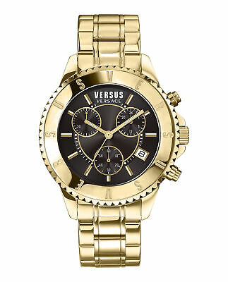 Brand New Luxury Versus Versace Watches Men Black Dial VSPGN2419