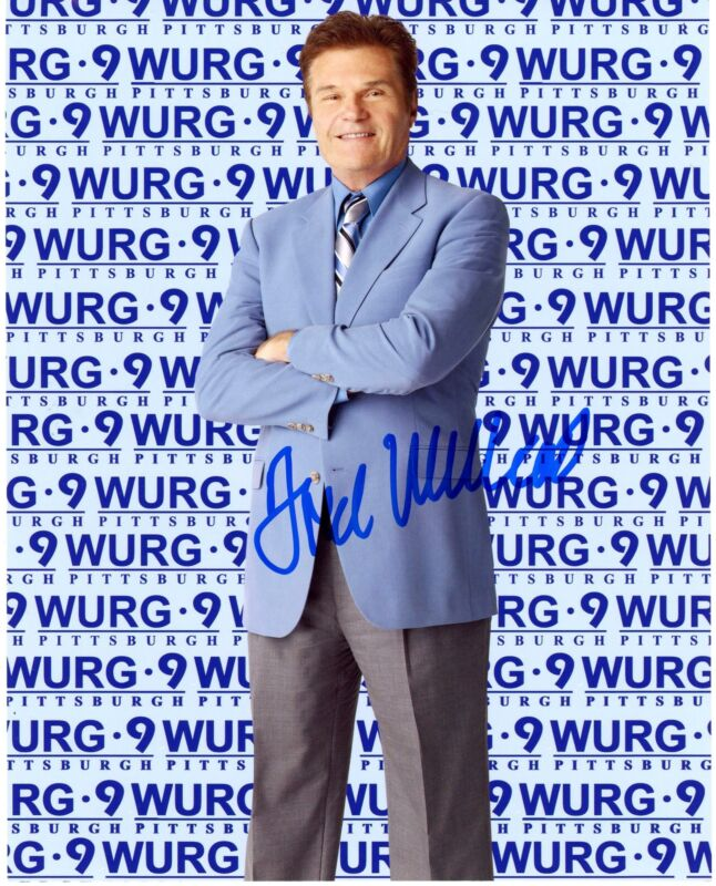 """Fred Willard """"Back to You"""" AUTOGRAPH Signed 8x10 Photo ACOA"""
