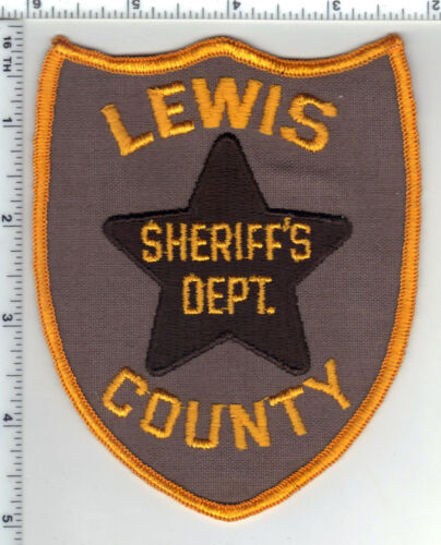 Lewis County Sheriff Department (West Virginia) 3rd Issue Shoulder Patch