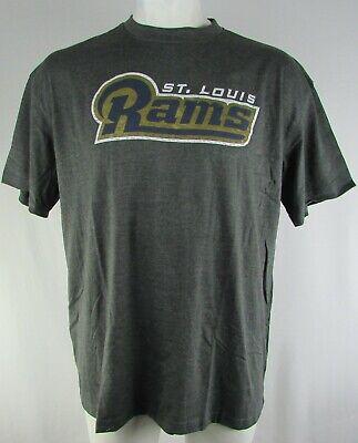St Louis Rams NFL Men's Majestic Big & Tall Short Sleeve T-Shirt