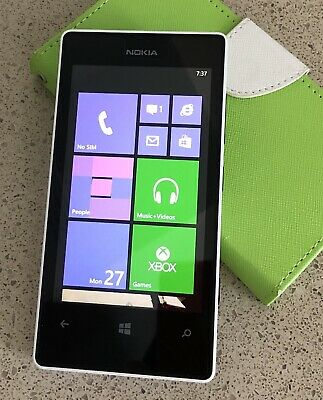 Nokia Lumia 521-8 GB-White(T-Mobile)Unlocked with Codes Provided Good Condition