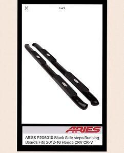 2012 - 2016 - Honda CR-V  Black Side Step Running Board