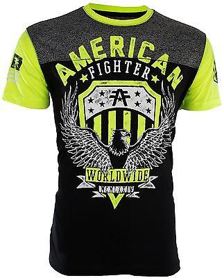 American Fighter Affliction Mens T Shirt Elmhurst Artisan Athletic Biker Ufc  40