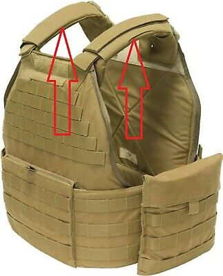 EAGLE US MILITARY USMC MTV TACTICAL VEST UNIVERSAL PLATE CARRIER SHOULDER PADS