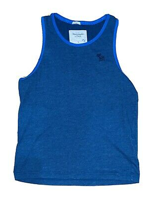 Abercrombie Men's Tank Top Navy Pre-owned