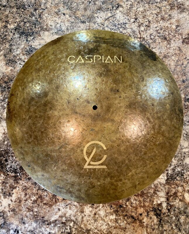 "Legado Cymbals Caspian Series 19"" Flat Ride Cymbal"