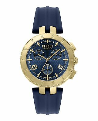 Versus Versace Chronograph Watch Logo Gent IP Gold Plated VSP763018