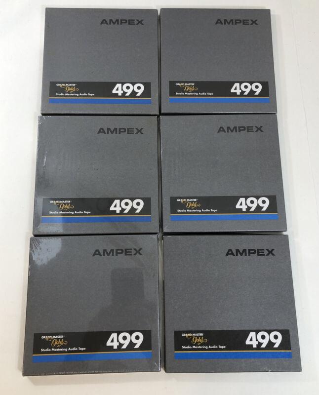 AMPEX 499 Grand Master Gold Studio Mastering Audio Tape