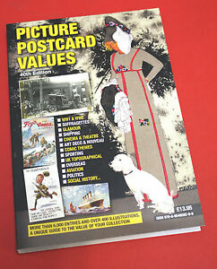New Picture Postcard Catalogue Values and Price Guide 2016 40th Edition