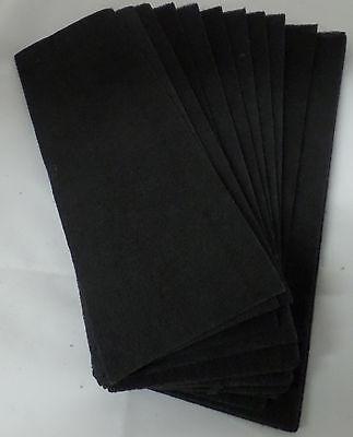 12 Pack  Furnace Floor Register Vent Charcoal Carbon Filters 4  X 12
