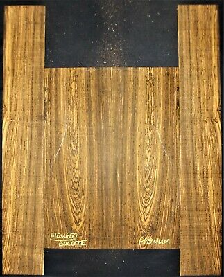 Guitar Luthier Tonewood FIGURED MEXICAN BOCOTE Acoustic BACKS SIDES SET