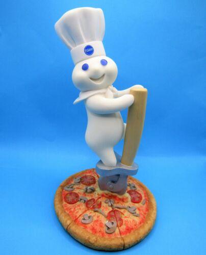 2002 Pillsbury Doughboy Danbury Mint CUTTING EDGE Pizza Figurine FSHIP!