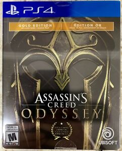 Assassin's Creed Odyssey PS4 Gold Steelbook Edition