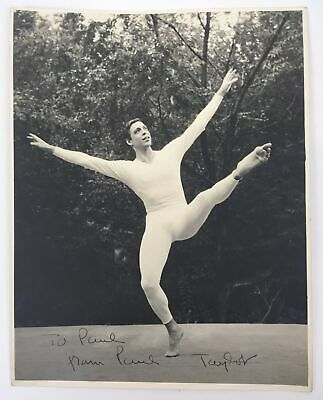 Paul TAYLOR (Dance): Signed Photograph for sale  Shipping to India
