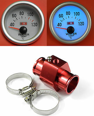 S2 Universal Water Temp /Temperature gauge With Sensor + Hose adapter 36mm