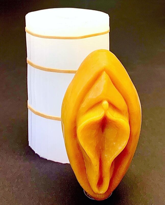 Silicone vagina candle  soap Mold easy release gag gift fun party Homemade V1