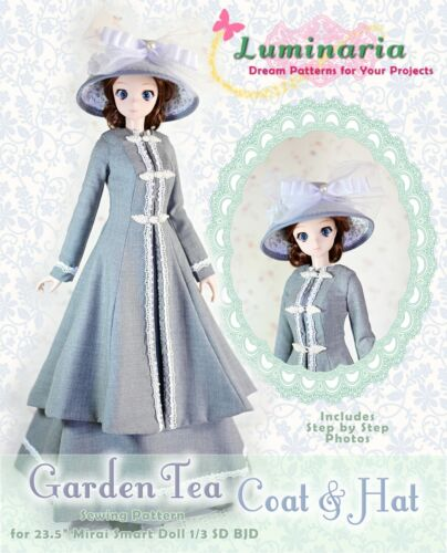 """BJD Doll Clothes Pattern Fits 23.5"""" 1/3 SD Smart Doll Mirai Ball Jointed Doll"""