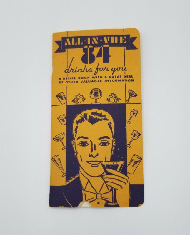 Art Deco All-In-Vue 84 Drink For You Cocktail Recipe Bartender Guide Brooklyn NY