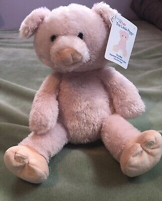 Baby Gund Soft Pink Talking Pig This Little Piggy Plush Stuffed Animal Toy Works