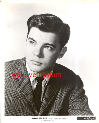 Vintage Warren Berlinger QUITE HANDSOME YOUTH