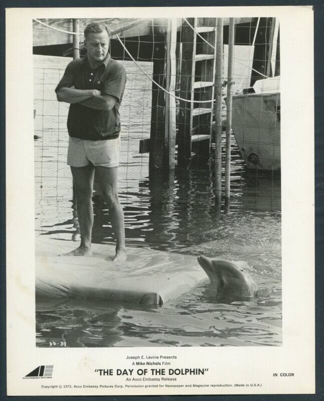 GEORGE C SCOTT in The Day Of The Dolphin