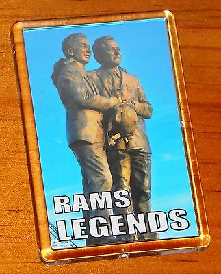 Brian Clough Peter Taylor Derby County Pride Park Football Statue Fridge Magnet
