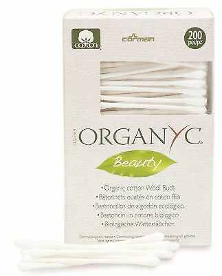 Organ(y)c Beauty Cotton Swabs - 200 count