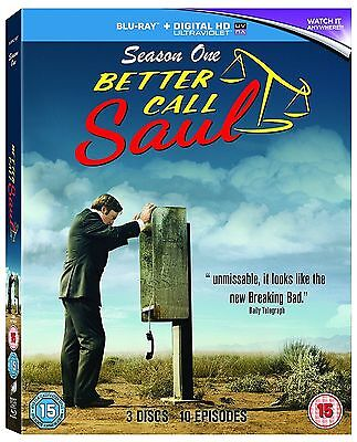 Better Call Saul Complete Series 1 Blu Ray All Episode First Season UK NEW