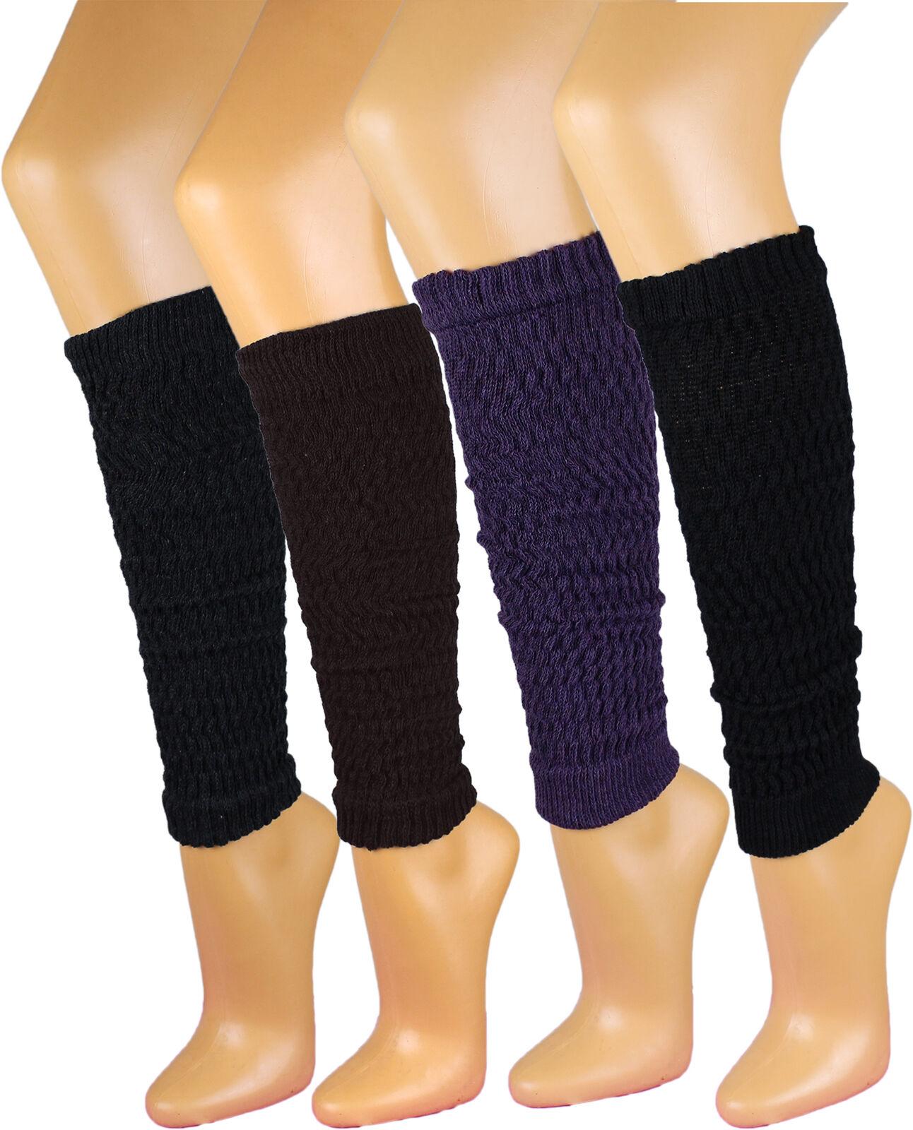 Damen Stulpen Legwarmer 65% Baumwolle Strümpfe Socken Damenstulpen