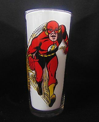 1971 Pepsi DC Comics Brockway THE FLASH Cartoon Character Glass