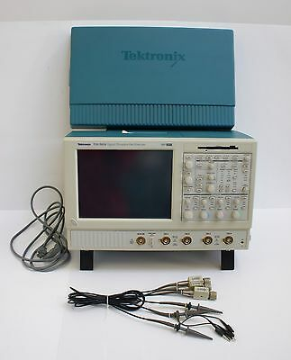 Tektronix Tds5054 Digital Phosphor Oscilloscope With Probes Manuals Etc