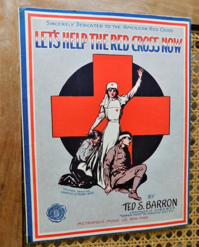 to American Red Cross-WWI Sheet Music Let