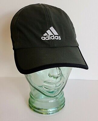 Adidas Men's Climalite Adjustable Hat Cap Army Green and Black Lightweight