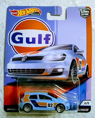 Hot Wheels Premium Car Culture Volkswagen Golf MK7 GULF Racing