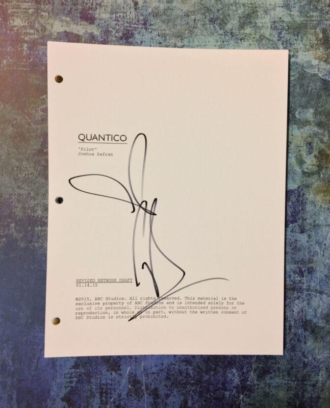 GFA Quantico Sexy Star * PRIYANKA CHOPRA * Signed Full TV Script PROOF AD1 COA