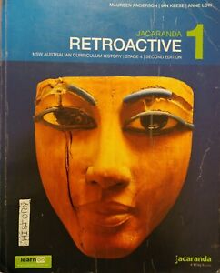 Year 7 Textbook History Jacaranda Retroactive 1 Stage 4 NSW Ac 2e