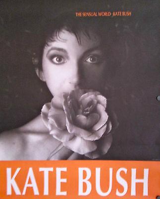 Kate Bush 1989 The Sensual World Rare ORIGINAL Jumbo Promo Poster