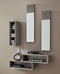 Mobile ingresso entrata moderna minimale pr lego 603 specchio mensole consolle ebay - Specchio ingresso moderno ...