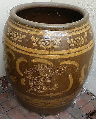 """Pair of Ornate Chinese Vases 24"""" wide and 29"""" tall weight is about 80 - 100 LBS"""