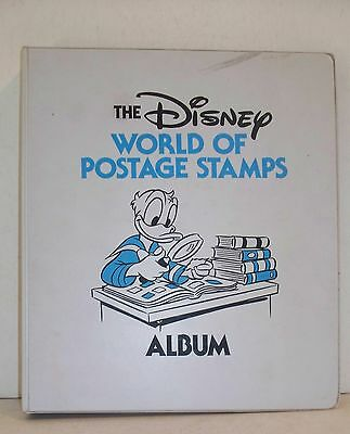 1980 Disney World of Postage Stamp Album Caribbean Islands FDC 57 pgs Half Full